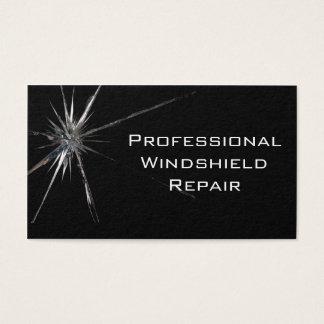 Windschutzscheiben-Reparatur-Visitenkarte Visitenkarte