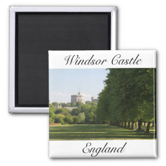 Windsor Schloss Quadratischer Magnet