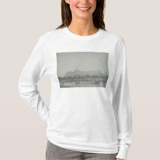 Windsor Schloss vom Fluss, 19. Jahrhundert T-Shirt