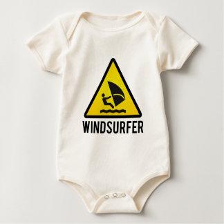 Windsurfer Baby Strampler