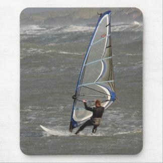 Windsurfer - Norre Vorupor, NordJytland, Dänemark Mauspads