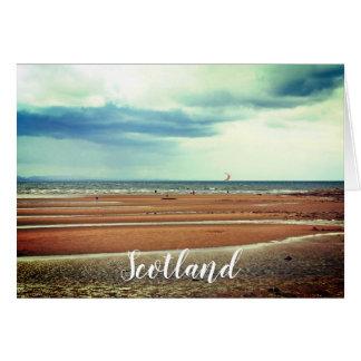 Windsurfing in Schottland, Grußkarte