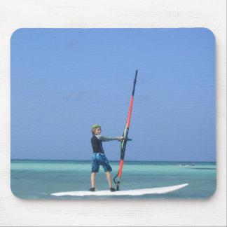Windsurfing jugendlich Mausunterlage Mousepads