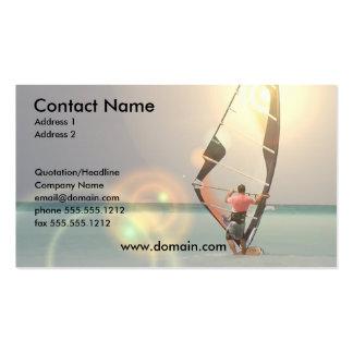 Windsurfing Sport-Visitenkarte Visitenkarten