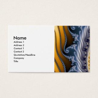 Windswept Fraktal-Kunst Visitenkarte