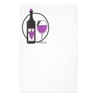 Wine A wenig/Rot Briefpapier