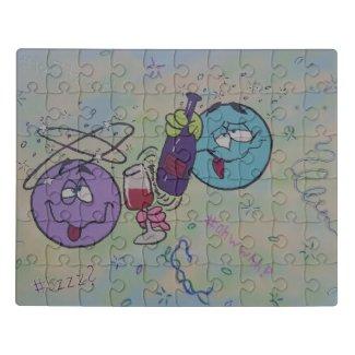 Wine tasting puzzle