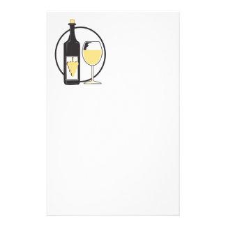 Wine wenig briefpapier