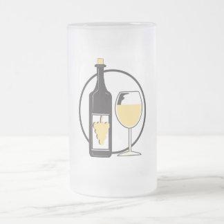 Wine wenig mattglas bierglas