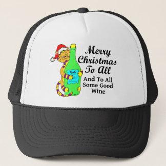 """Winey Katzen-Weihnachten """"… und zu etwas ganzem Truckerkappe"""