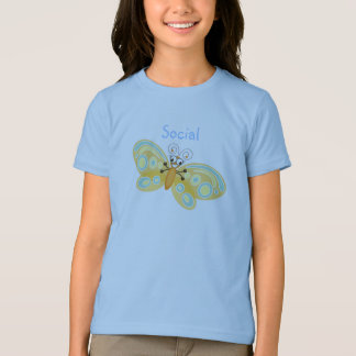 Wing-Nutz™_Social Schmetterling (Beatrice) T-Shirt