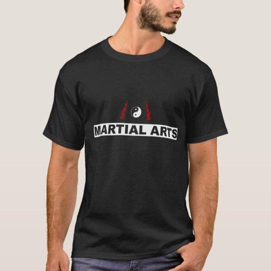 WING TSUN MARTIAL ARTS SHIRT (black)