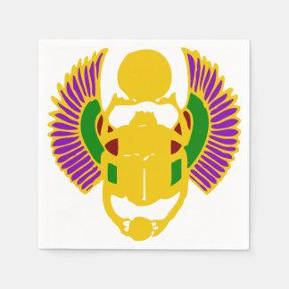 winged ägyptisches Entwurfs-Party des Papierserviette