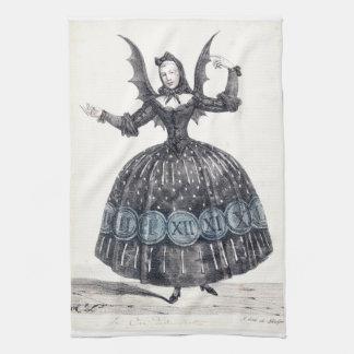 Winged Frauen-Geschirrtuch Handtuch