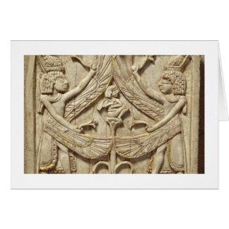 Winged Genies, Assyrian Zeitraum, c.750 BC Karte