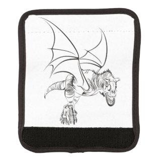 Winged Raubvogel/Stammes- Koffergriffwickel