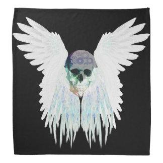Winged Schädel-gotischer Entwurf perfekt für Halstuch