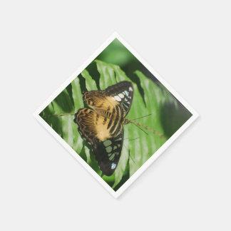 Winged Schmetterling Papierservietten
