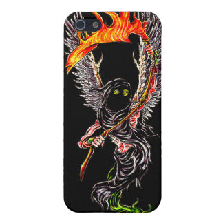 Winged Sensenmann Iphone Fall iPhone 5 Etuis