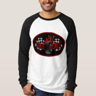 Winged Sieg - Fliegen-Reifen T-Shirt