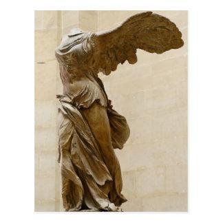 Winged Sieg von Samothrace Postkarte
