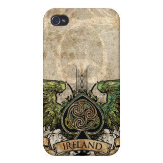 Winged Tätowierungs-keltischer Knoten-künstlerisch iPhone 4 Etui