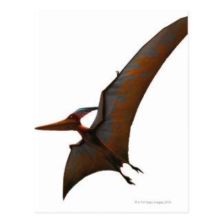 Winged und zahnlos postkarte