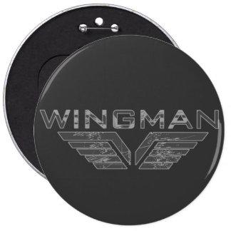 Wingman Runder Button 15,3 Cm