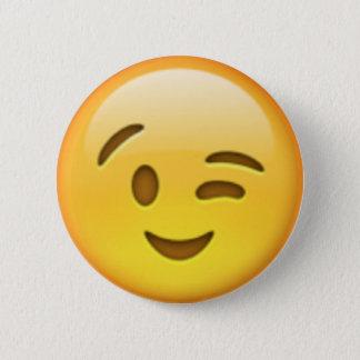 Wink Emoji Button