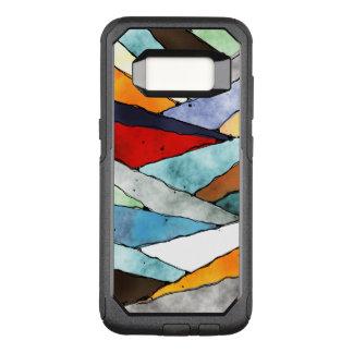 Winkel der strukturierten Farben OtterBox Commuter Samsung Galaxy S8 Hülle