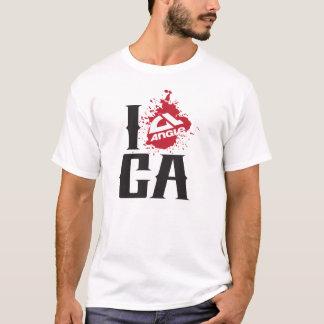 """Winkel """"ich angele CA"""" T-Stück - Weiß T-Shirt"""
