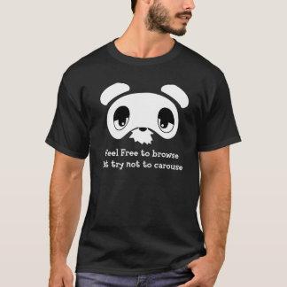 Winkel-Ritzen-Käufer T-Shirt