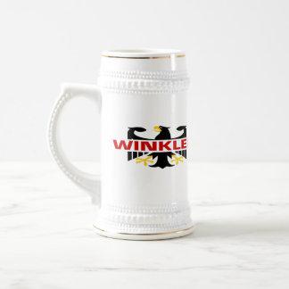 Winkler Familienname Bierkrug