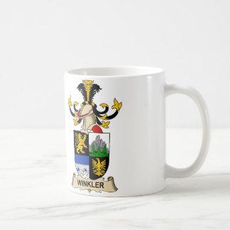 Winkler Familienwappen Kaffeetasse
