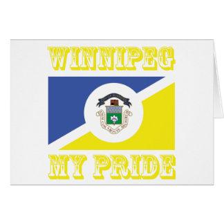 Winnipeg-Entwürfe Karte