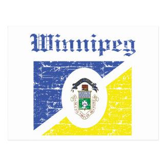 Winnipeg-Entwürfe Postkarte