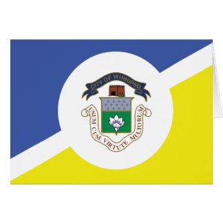 Winnipeg-Flagge Karte