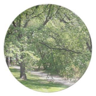 Winnipeg-Frühling Melaminteller