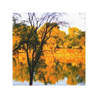 Winnipeg-Herbst Leinwanddruck
