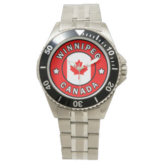 Winnipeg Kanada Armbanduhr