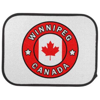 Winnipeg Kanada Autofußmatte