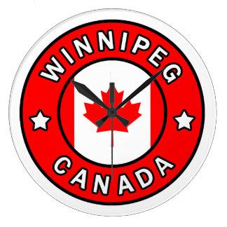 Winnipeg Kanada Große Wanduhr