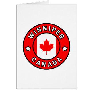 Winnipeg Kanada Karte