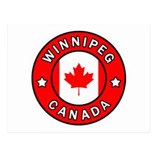 Winnipeg Kanada Postkarte