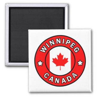 Winnipeg Kanada Quadratischer Magnet