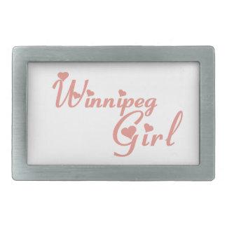 Winnipeg-Mädchen Rechteckige Gürtelschnallen