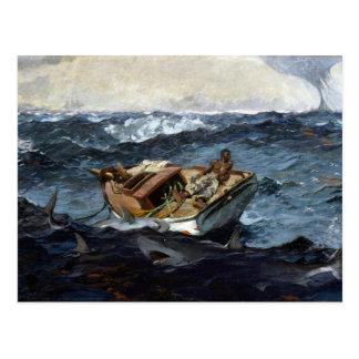 Winslow Homer das Gulf Stream Postkarte