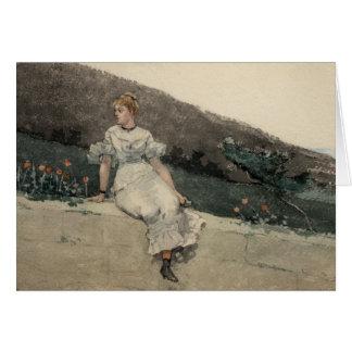 Winslow Homer - die Garten-Wand Karte