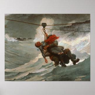 Winslow Homer - die Lebensader Poster