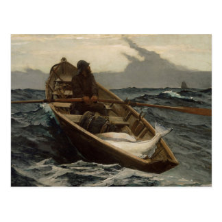 "Winslow Homer - ""die Nebel-Warnungs-"" Postkarte"